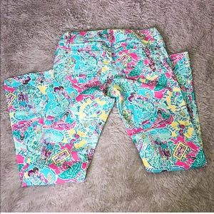 Women's Lilly Pulitzer Worth Straight Jeans